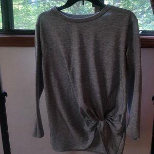 Tops - Tied Long Sleeve Shirt